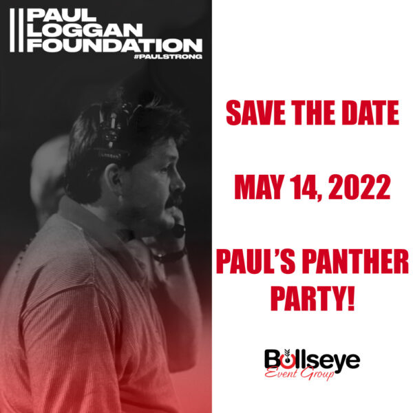 """Save the date for the upcoming annual fundraiser, renamed to """"Paul's Panther Party""""."""